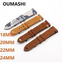 Ремешок oumashi из натуральной кожи для мужчин и женщин быстросъемный