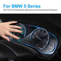 Car Instrument Panel Screen Protector for BMW F10 G30 G31 F07 F11 F18 G38 5 Series Car Dashboard Protective TPU Film Auto Access