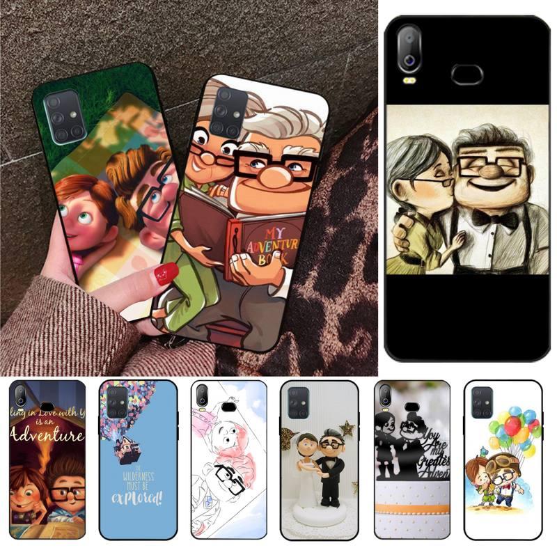 CUTEWANAN Romantic Up Carl And Ellie Couple Phone Case For Samsung A10 A20 A30 A40 A50 A70 A80 A71 A91 A51 A6 A8 2018