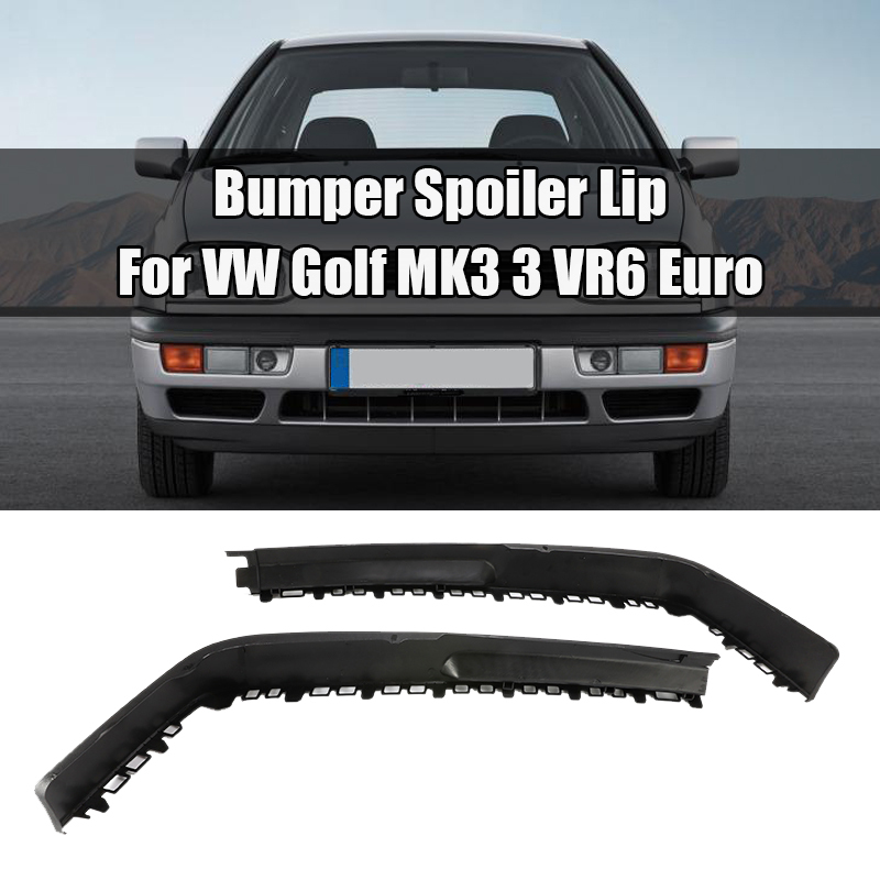 For <font><b>VW</b></font> <font><b>Golf</b></font> <font><b>MK3</b></font> 3 <font><b>VR6</b></font> Euro Front Big Bumper Chin Spoiler Lip Sport Valance Splitter Car Scratch Resistant Wing Auto Accessories image