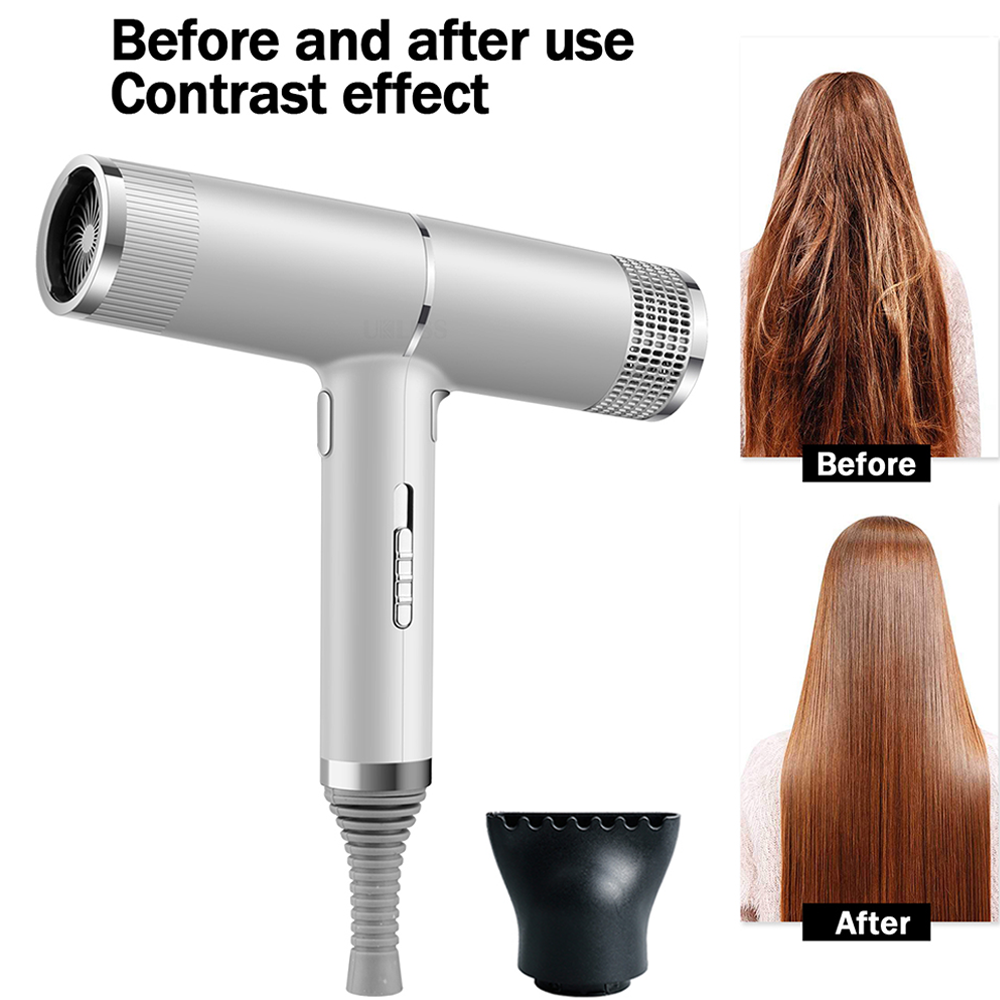 Professional Hair Dryer Infrared Negative Ionic Blow Dryer Hot&Cold Wind Salon Hair Styler Tool Hair Blower Electric Blow Drier