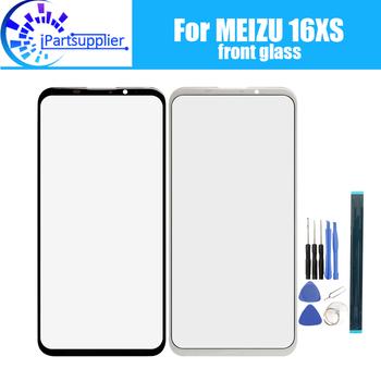 Dla Meizu 16XS szklany ekran przedni obiektyw 100 nowy przedni ekran dotykowy szklany obiektyw zewnętrzny dla Meizu 16XS + narzędzia tanie i dobre opinie iParto For Meizu 16XS Front Glass Lens pieces 0 200kg (0 44lb ) 19cm x 12cm x 7cm(7 48in x 4 72in x 2 75in)