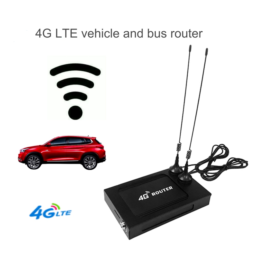 Mobile 1200Mbps 3g 4g Lte Modem sans fil double bande Wifi routeur 802.11AC Point daccès Openwrt avec emplacement pour carte SIM pour voiture/Bus