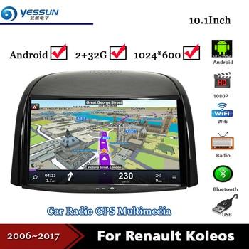 Car Android Media Radio For Renault Koleos 2006~2017 2 din 2+32G GPS Navi Navigation Audio Video Stereo Multimedia System Player