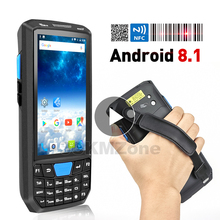 새로운 PDA 핸드 헬드 터미널 안드로이드 8.1 PDA 와이파이 바코드 스캐너 무선 2d 데이터 수집기 바코드 리더 스캐너 1D 레이저 2D QR
