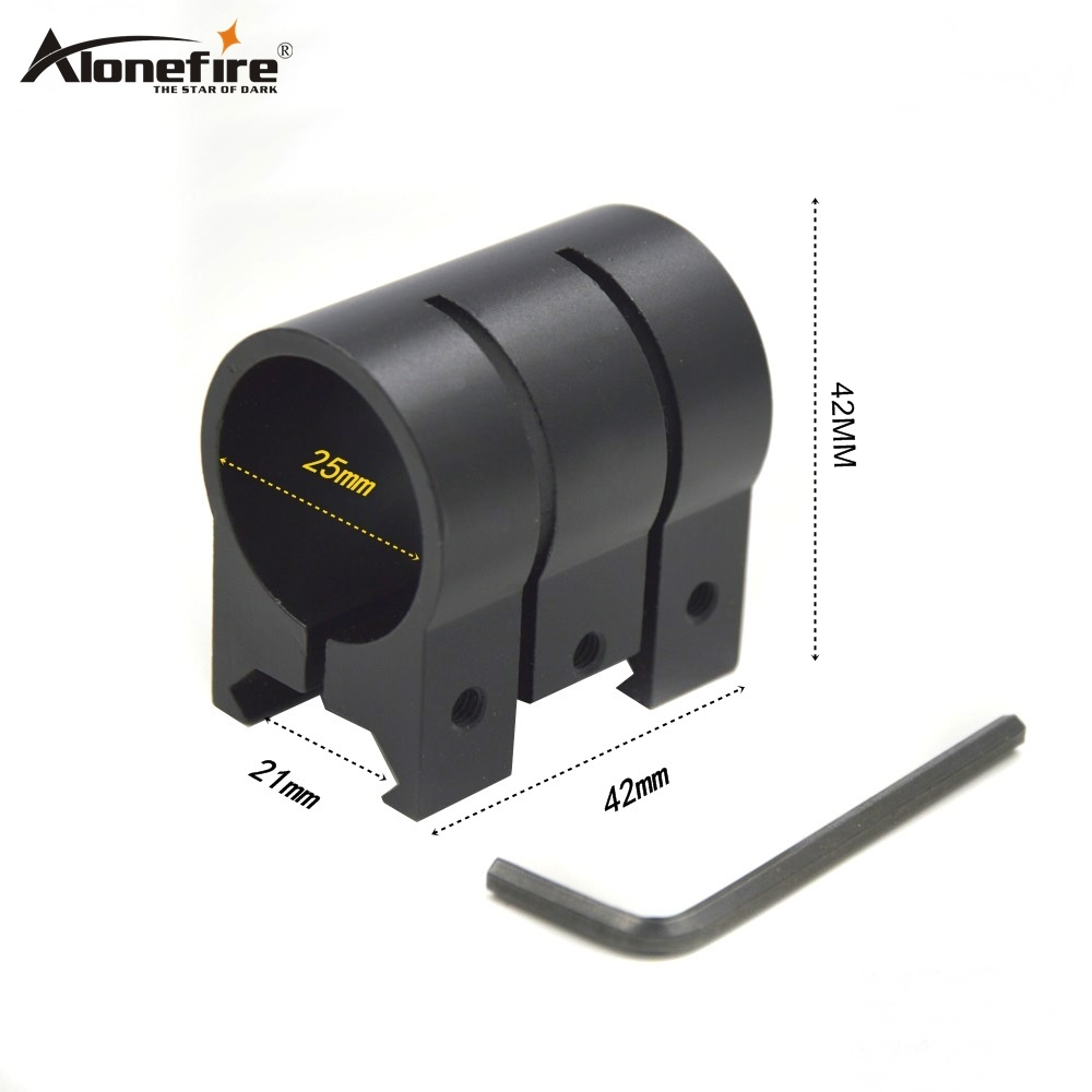 AloneFire M440 25mm Ring Weaver 21mm Picatinny Rail Dovetail Base Airsoft Rifle Shot Gun Light Laser Sight Scope Hunting Mounts