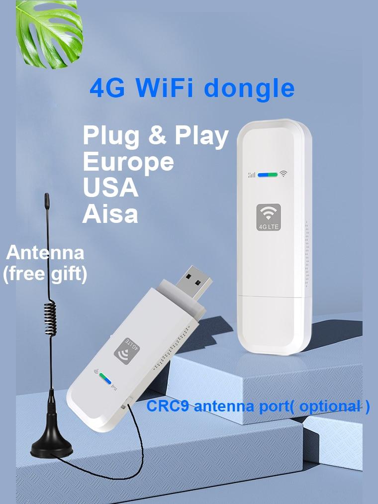 LDW931 4G Wi-Fi роутер мобильный портативный беспроводной LTE USB 4G модем nano SIM Слот для карты карманный хот-спот антенна Wi-Fi донгл