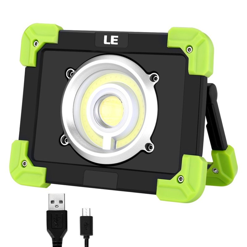 20W 22leds Portable Camping Lights 1500LM LED COB Work Lamp USB Rechargeable Waterproof Floodlight For Outdoor Hiking