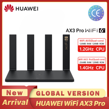 Global Version HUAWEI AX3 Pro Router WiFi Speed Revolution Quad Core WiFi 6 + Router 3000 Mbps Tap to connect Easy Set up