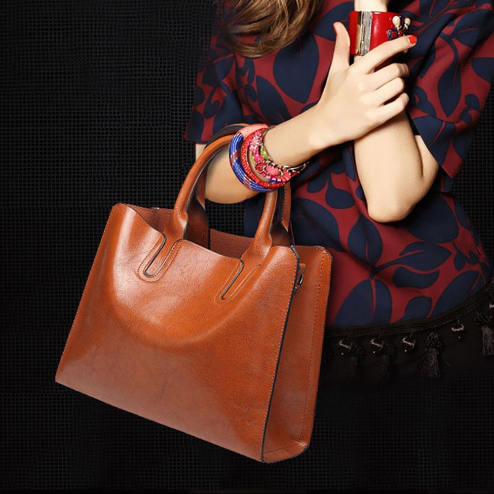 Fashion Crossbody For Women Large Capacity PU Leather Shoulder Bag Messenger Bag With Adjustable Strap K-BEST
