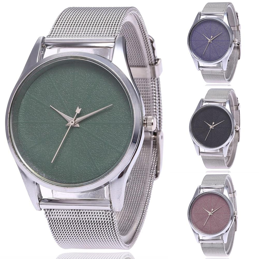 Fashionable Watch Women Simple Wristwatch High Hardness Glass Mirror General Mesh Belt Watch Watches Relogio Feminino