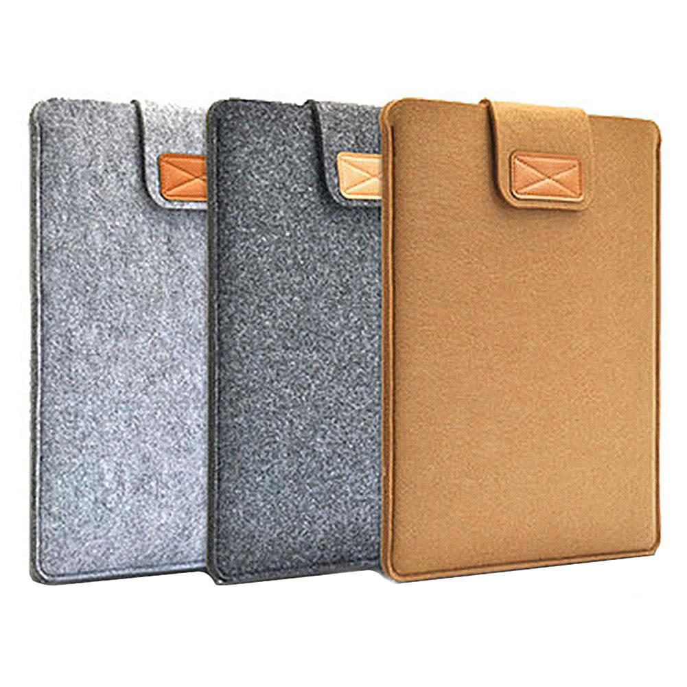 2020 Anti-Scratch Felt Protect Bag Case Cover For Macbook Ultrabook Laptop  10 11 13  15  Inch Laptop Sleeve Case PC Tablet Case