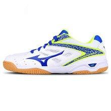 Оригинальная Классическая обувь для настольного тенниса Mizuno для мужчин и женщин, Воздухопроницаемый Легковесный спортивная обувь кроссовки