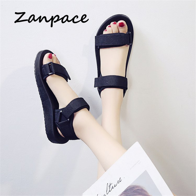 Sports Sandals Women Summer New Open Gladiator Platform Sandals Fashion Soft Bottom Pregnant Women Casual Beach Shoes Woman