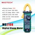 Цифровой Мультиметр MASTECH MS2108  мультиметр с током 6600 отсчетов  измеритель емкости переменного тока  постоянного тока