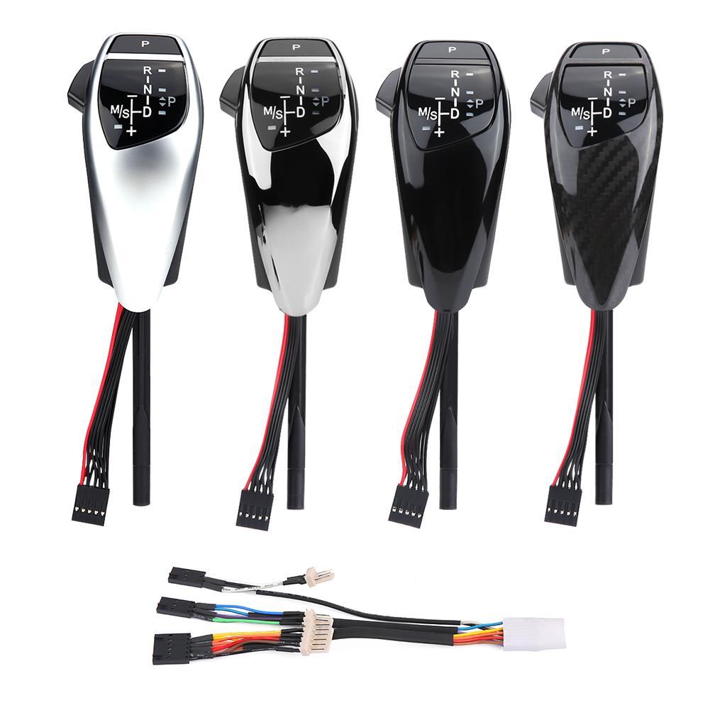 Für BMW Auto änderung LHD Automatische LED Schaltknauf Shifter Hebel für BMW E46 E60 E61 Schaltknauf kopf - 2