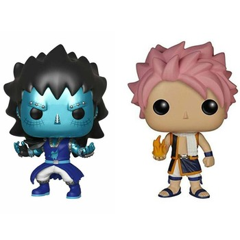 Funko Pop Fairy Tail #67 Naz Gajeel Collectible Model Vinyl Action Figures Toys for Chlidren Birthday Gifts anime harajuku fairy tail star magic guild logo shoulder zipper bag men schoolbags naz rucksack