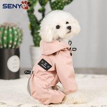 Abrigo Impermeable para Perro, ropa Impermeable para Perro, Impermeable, transpirable, absorbente de sudor, reflectante