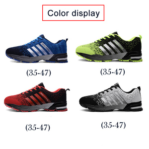 Image 4 - Uberu baskets de Tennis pour hommes, chaussures dextérieur en maille, confortables, antidérapantes, résistantes à lusure, grande taille 48, chaussures de course décontractées