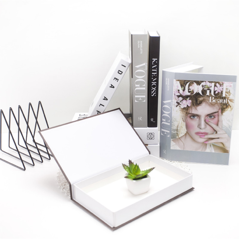 Can Opened Home Decor Books Fake Books Interior Design Modern Nordic Decoration Coffee Shop Store Soft