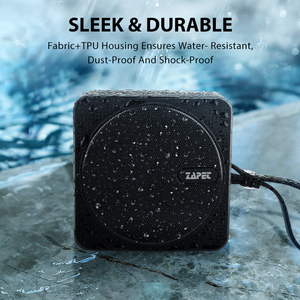 Image 2 - ZAPET C2 Outdoor Mini Bluetooth Speaker IPX6 Waterproof Portable Speaker with mic Bass Stereo Columns for iphone xiaomi phone