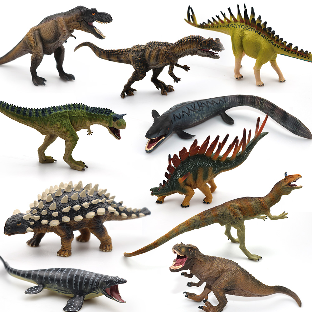 18Styles Big Size Jurassic Wild Life Dinosaur Toy Set Plastic Play Toys World Park Dinosaur Model Action Figures Kids Boy Gift