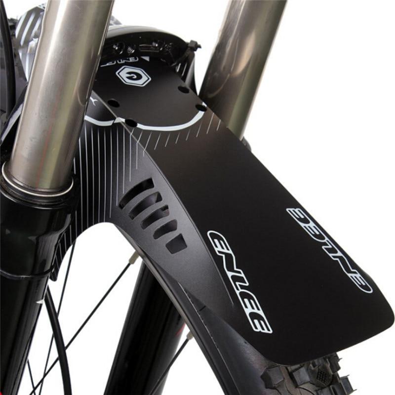 אופניים מגן בץ קדמי אחורי מגיני רכיבה על כביש MTB אופני הרי אופניים פנדר עם 6 תיקון רצועת אופני אביזרים
