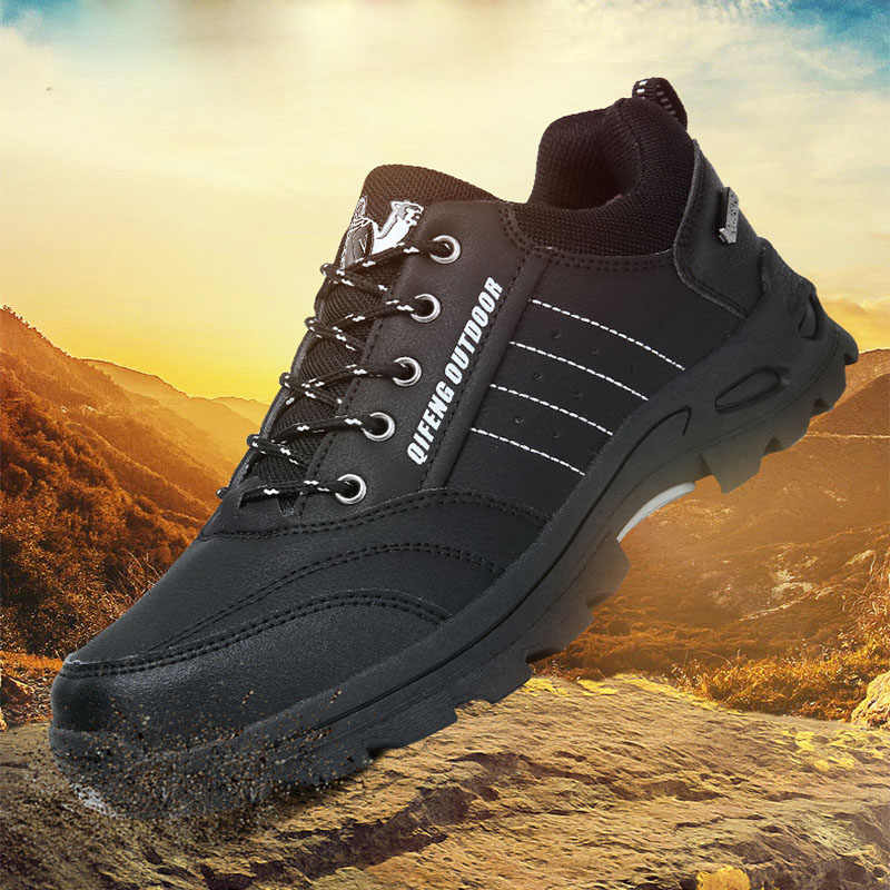Hot Sale Leather Hiking Shoes Worm Fur