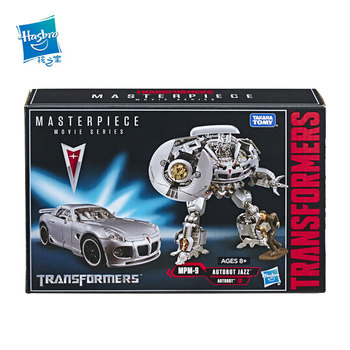 Hasbro Transformers MPM-9 MPM 9 Master Piece Movie Series Autobot Jazz Car Robots Collectible Models Children Gifts Toy Model 1