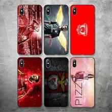 цены на Yinuoda Sport Lisboa e Benfica FC Phone Case Picture For Pizzi Silicon Soft TPU Cover For iPhoneX XR XS MAX 7 8 7plus 6 6S 5S 5  в интернет-магазинах