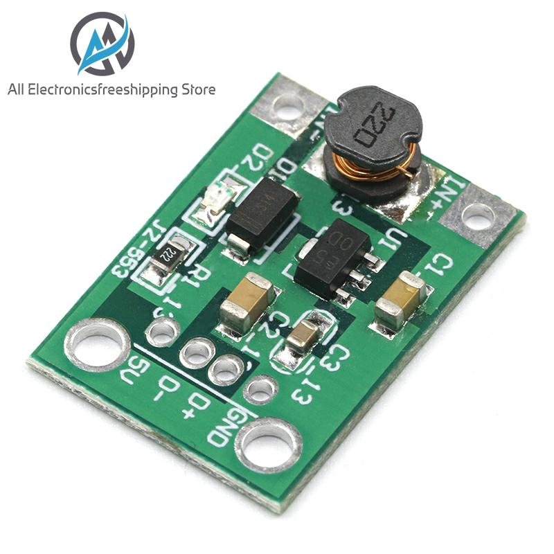 1PCS 600mA DC-DC Mini Step Up Power Module 1-5V To 5V Step-up Boost Converter NEW