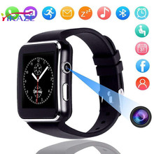 Smart Watch X6 Curved Screen Bluetooth Smart Watch Phone Mate for Samsung/Android/iOS стоимость