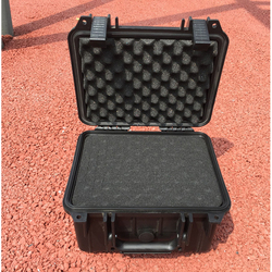 240*185*105MM Waterproof tool case toolbox Camera Case Instrument box suitcase Impact resistant sealed with pre-cut foam lining