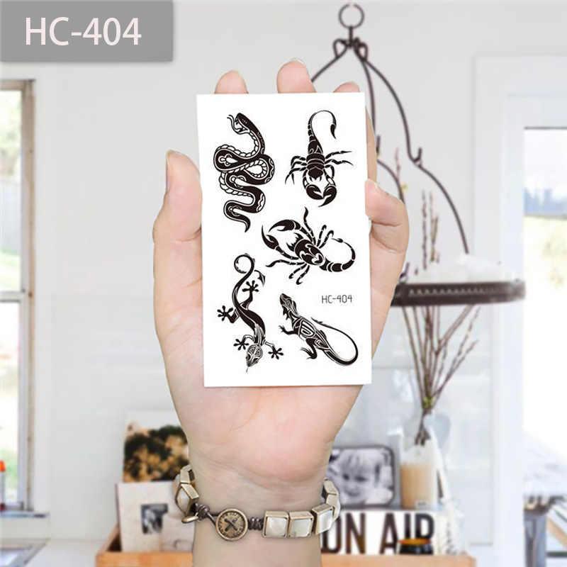 10x6cm neue umweltschutz wasserdicht schwarz handgelenk schlüsselbein mode Tattoo Aufkleber