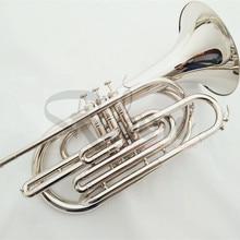 Weifang Rebon Nickel Silver Bb key Marching Trombone