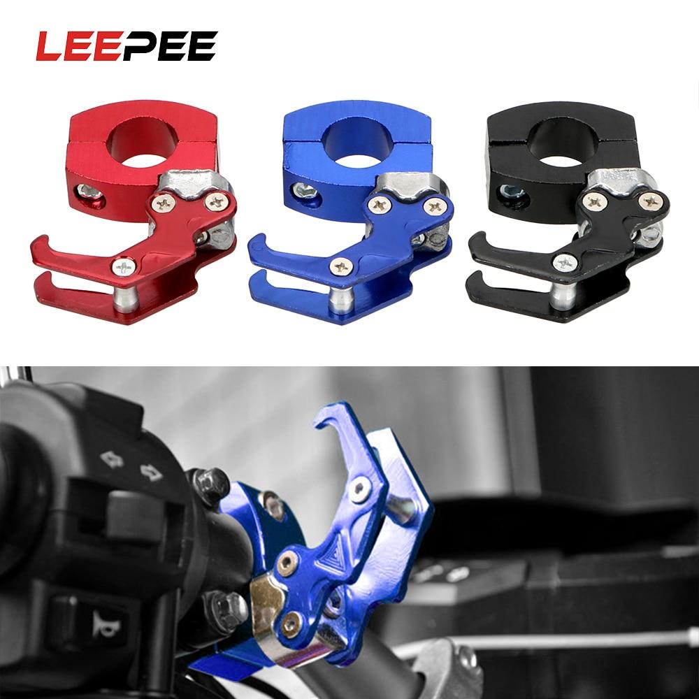 LEEPEE Motorcycle Bike Bicycle Hook Luggage Bag Hanger Aluminum Alloy Storage Bag Holder Helmet Claw Hook
