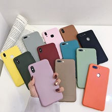 Apple Mobile Phone Case with Silicone Vivo Abrasive Soft Oppo Color Relief Painting