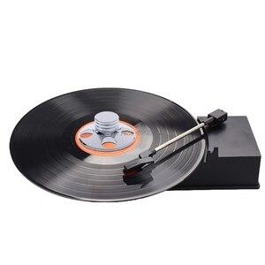 Image 5 - Âm thanh LP Vinyl Đồ Chơi Con Quay Kim Loại Đĩa Ổn Định Kỷ Lục Cầu Thủ Trọng Lượng Kẹp HiFiWholesale dropshipping