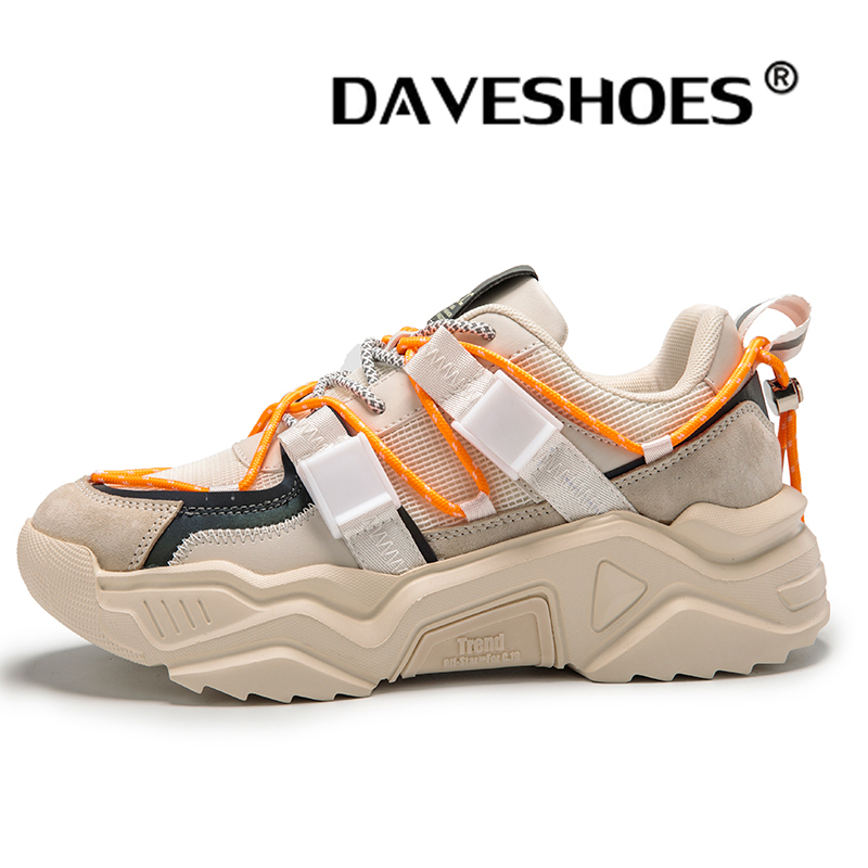 daveshoes men's sport comfort cross trainer shoes fashion sneakers memory foam running shoes