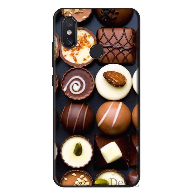 Cassa Del Telefono Mobile TPU Per La Nota Redmi 4 4X5 6 7 Pro 5A Prime Copertura Pralines Cioccolatini