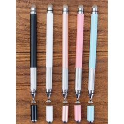 EastVita elektroniczny długopis przewodzący materiał + przyssawka 2 w 1 metalowy długopis z aktywnym rysikiem długopis z aktywnym rysikiem r60