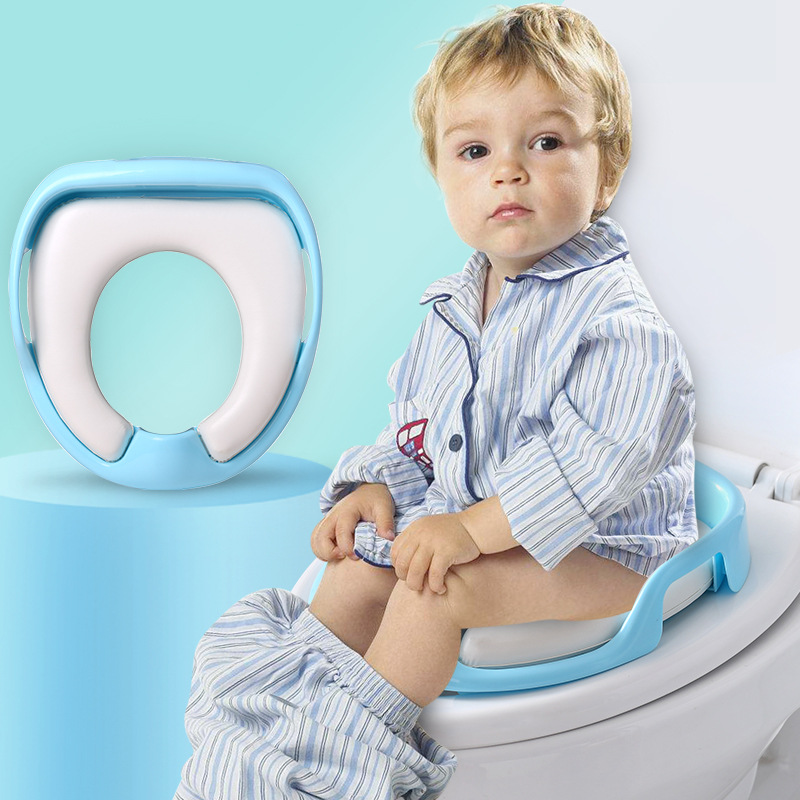 CHILDREN'S Toilet Seat Pedestal Pan Male Baby GIRL'S Extra-large No. Sit Washer Boy Padded Toilet Seat Cover Universal