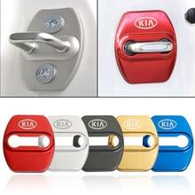 Автомобильный стильный дверной замок, защитный чехол для Kia Soul Sorento Prime Carens Rondo Sportage(QL) optima-, автомобильные аксессуары