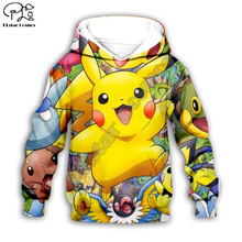 Kids Cloth Pokemon  Pikachu Cartoon 3d hoodies/tshirt/boy sweatshirt Hot Movie pant style-3