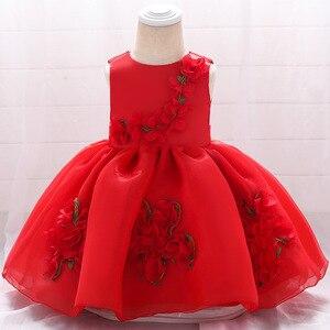 Для маленьких девочек, Vestidos, одежда для детей, Infantil, для детей платье принцессы для девочек до 1 года; для девочек на первый день рождения, веч...