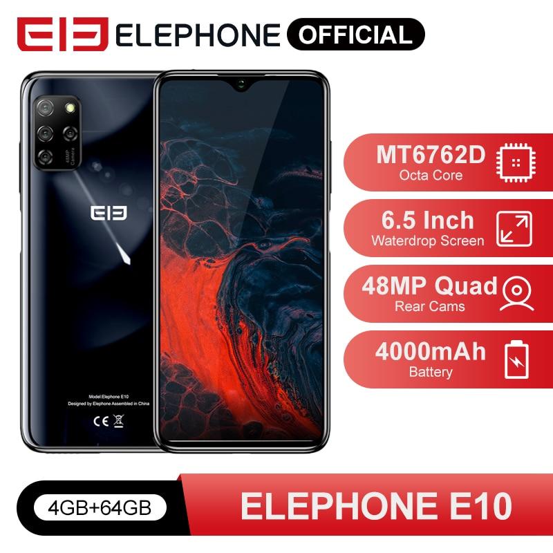 ELEPHONE E10 4GB 64GB Smartphone Octa Core 6.5