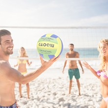 Volleyball Outdoor Soft No Does-Not-Hurt-Your-Hands Layer No.5 Fast-Ship High-Foaming