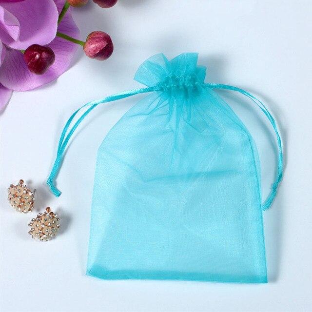 Купить 50 шт/лот регулируемая органза сумка для упаковки ювелирных картинки