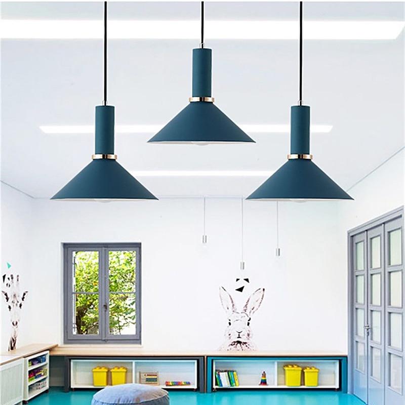 Nordic Pendant Lights Modern Bedroom Bedside Dining Room Pendant Lamp Bar/Cafe Individual Creative Lighting Fixtures