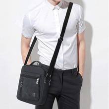 Мужская модная парусиновая однотонная Повседневная деловая сумка на плечо Сумки Конверты обычные для отдыха Chian одиночные Сумки На Плечо# LG